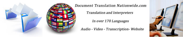 Swahili to English Translators documents folder globe flags computers