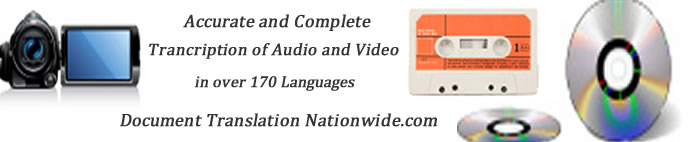 New York transcription services Audio ,video all languages dvd, cam recorder, cassette tape,